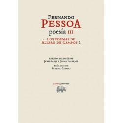 Los poemas de Álvaro de Campos 1