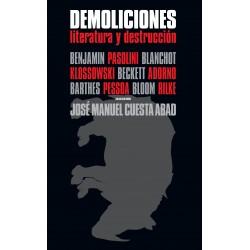 Demoliciones. Literatura y destrucción